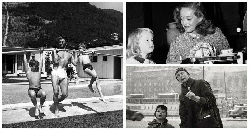 Звезды золотого века Голливуда и их дети