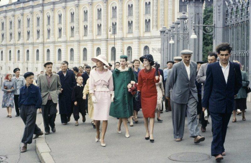 20 век в цвете. СССР 1959 г. Наша страна 60 лет назад