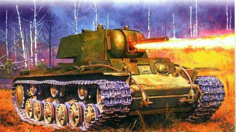 192 часа в окруженных танках. Огнеметные КВ-8, потеряв ход, несколько дней отбивались от немцев