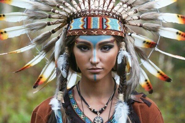 Про индейцев вперемешку