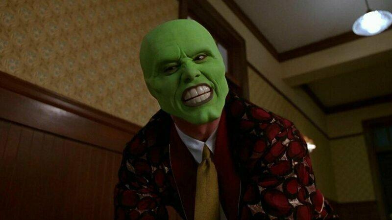 Кадры из «Маски» с Джимом Керри смонтировали так, чтобы фильм стал похож на ужасы