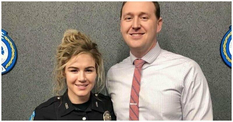 Отправившиеся на свидание полицейские предотвратили ограбление