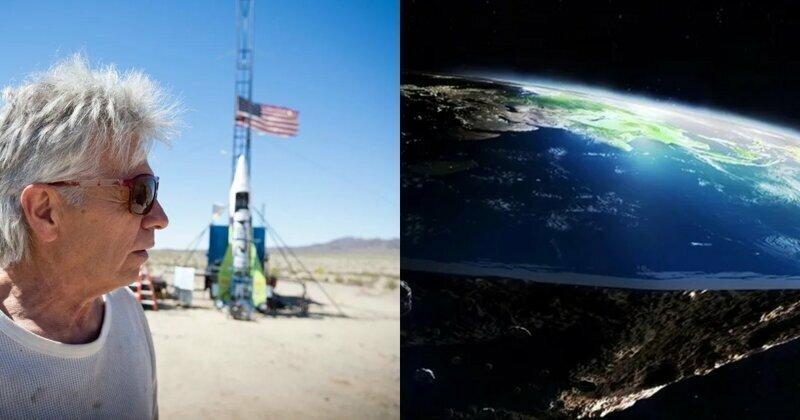 При очередной попытке доказать, что Земля плоская, погиб астронавт-любитель