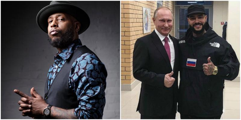 Американский рэпер обвинил Тимати в присвоении лейбла Black Star и не выдержал атаку троллей