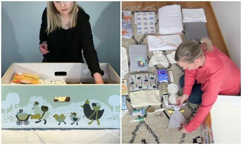 Финляндия уже 82 года дарит будущим мамам специальную коробку