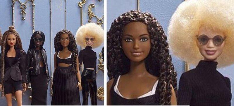 Девочкам предложат новых Барби с разными оттенками кожи