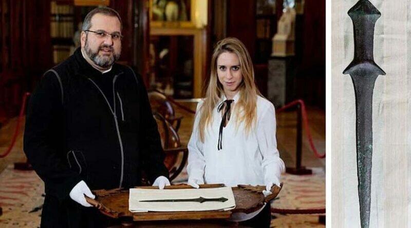 «Самый старый меч в мире» нашли в Армянском монастыре Венеции
