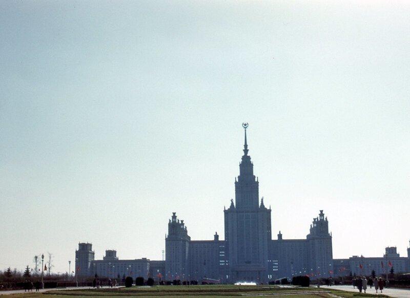 Москва в 1960-е