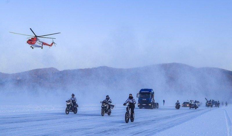 Байкальская миля 2020: фестиваль скорости на льду в Бурятии