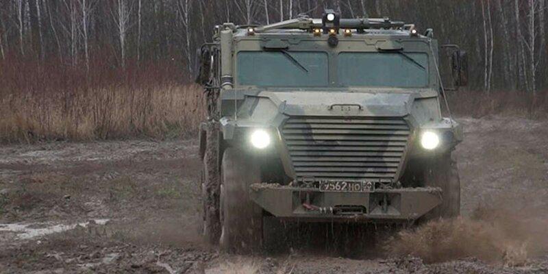 В России разрабатывают новый броневик для армии и полиции