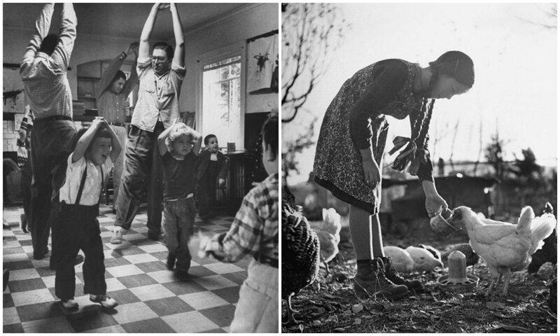 Дети в 1940-1960 годах: редкие винтажные снимки