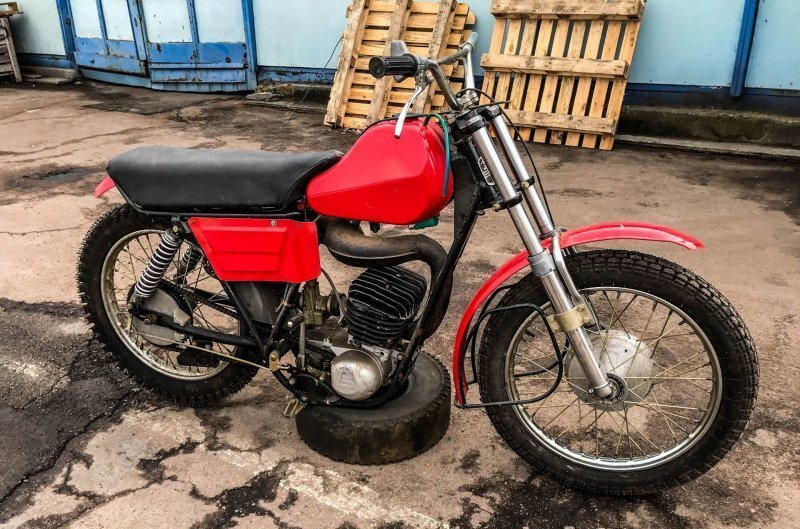 Восход СМБ-3: новый мотоцикл для мотобола 1991 года