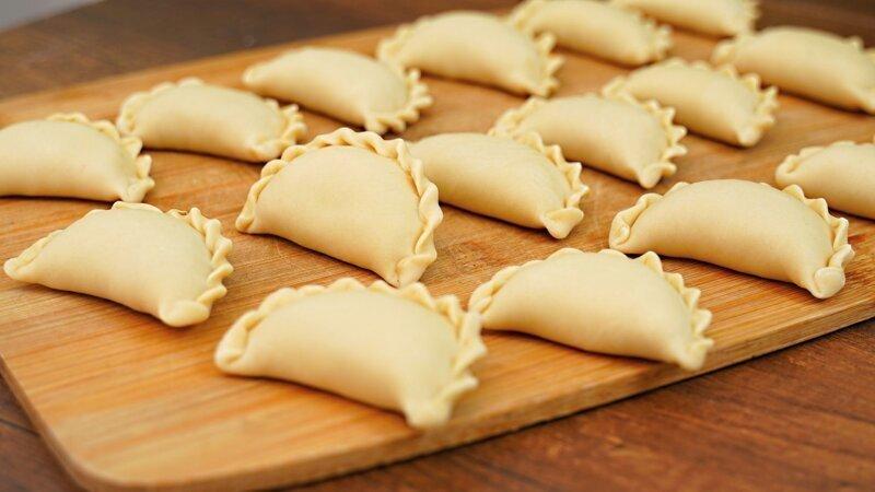 Вареники с капустой – вкусное, постное блюдо из доступных продуктов