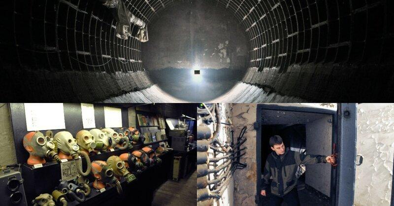 """Путешествие по советскому бункеру. Эксклюзив """"Фишек"""""""