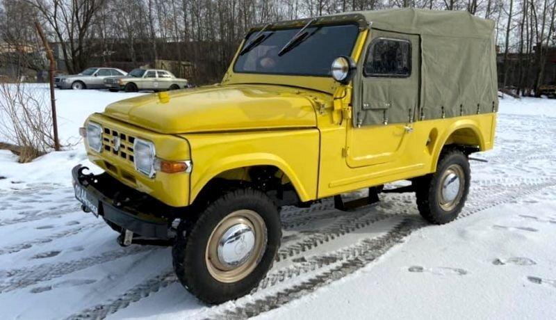 Москвич-415С —  уникальный прототип советского внедорожника показали после полной реставрации