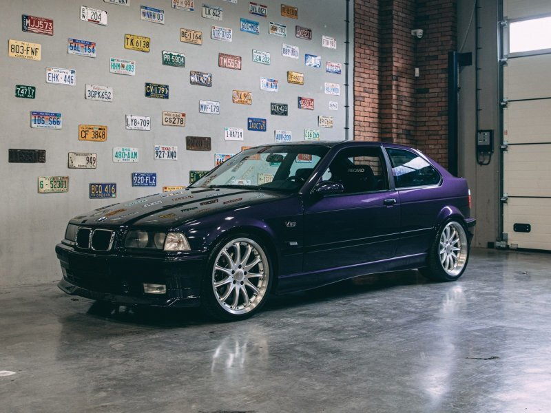 Hartge Compact V8 4.7 1997 – Самая брутальная «Тройка» BMW Compact