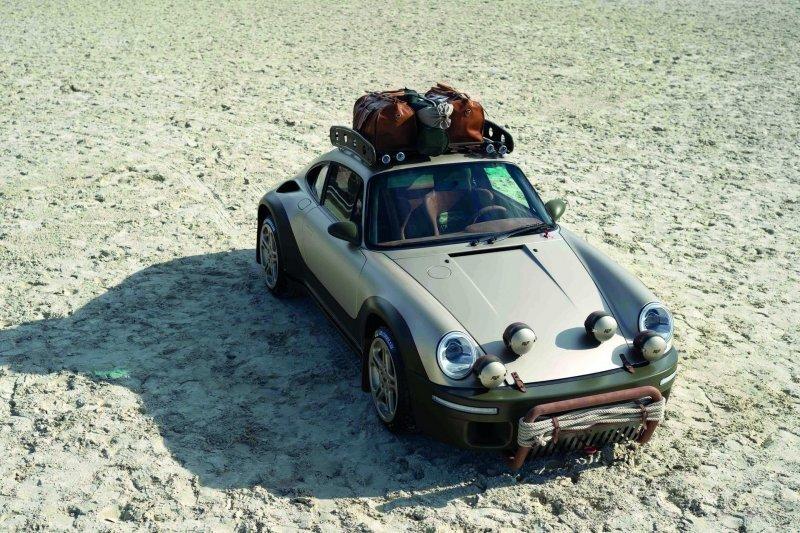 RUF Rodeo — полный привод и внешность Porsche 911