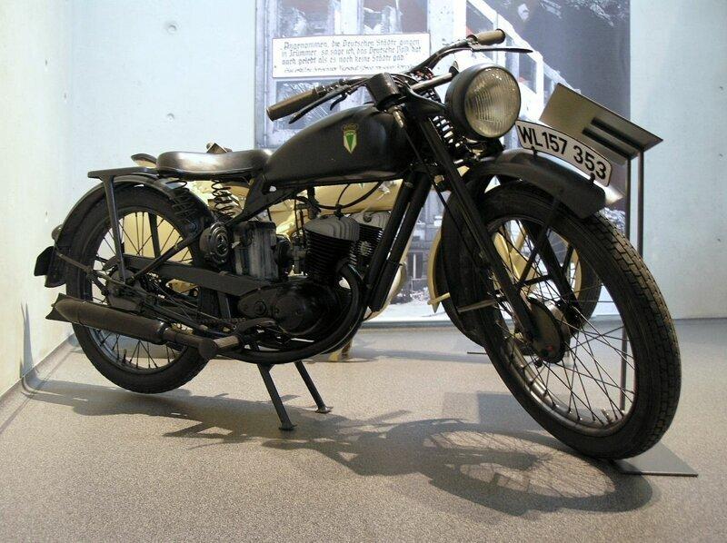 Самый копируемый мотоцикл всех времён Немецкий  DKW RT 125