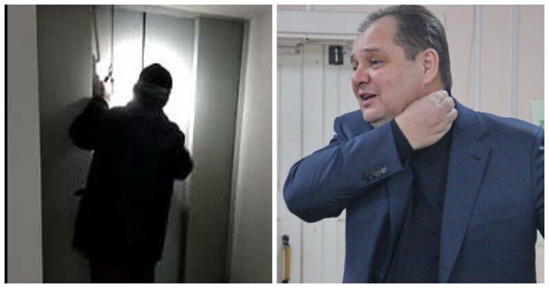 Врио губернатора Еврейской АО застрял в лифте отремонтированной больницы
