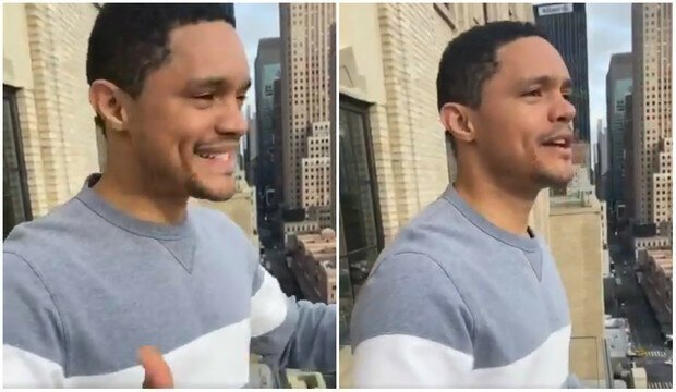Как соседи отреагировали на флешмоб комика, который запел на балконе