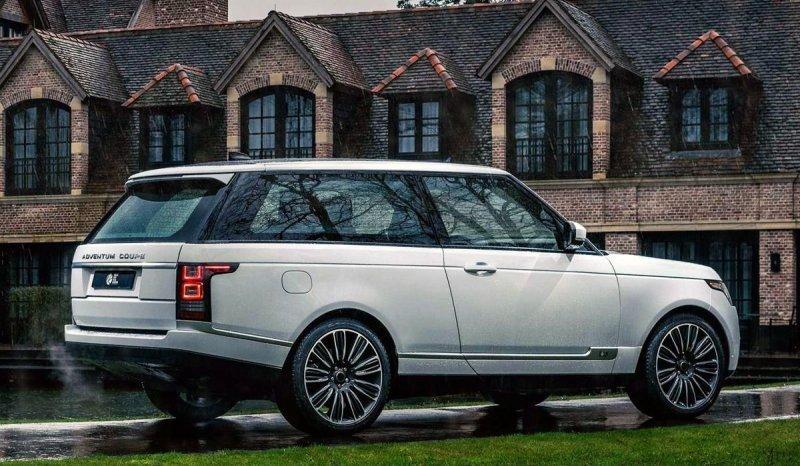 "Range Rover Adventum Coupe: очень дорогой ""распил"""