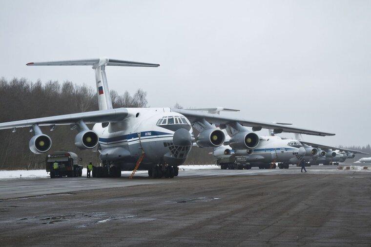Россия подготовила самолеты для отправки помощи в Италию