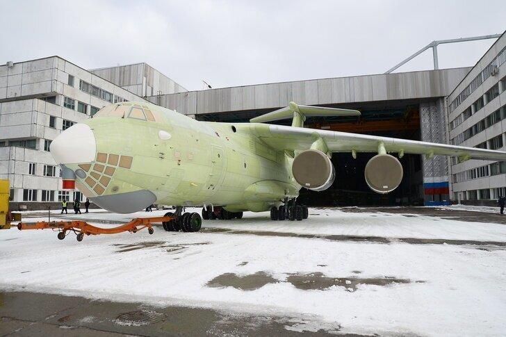В Ульяновске на летные испытания переданы два Ил-76МД-90А