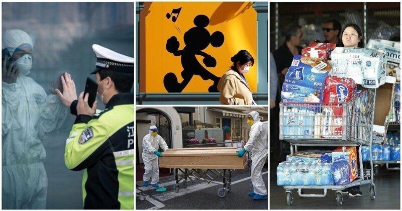 Мир и коронавирус: 30 пробирающих до дрожи снимков, которые войдут в историю