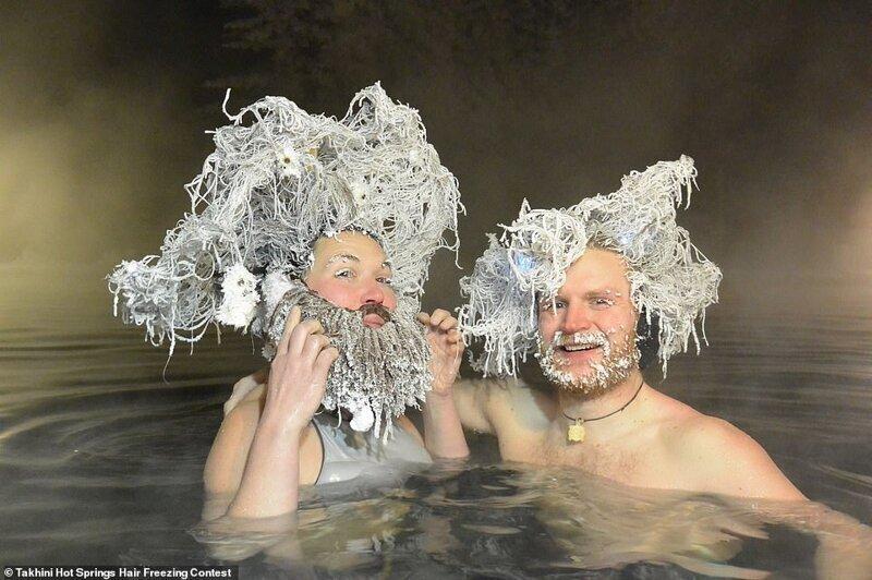 Уникальный конкурс замороженных волос: финалисты-2020