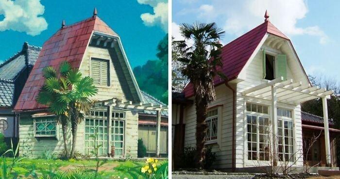Реальная копия домика из мультфильма «Мой сосед Тоторо»