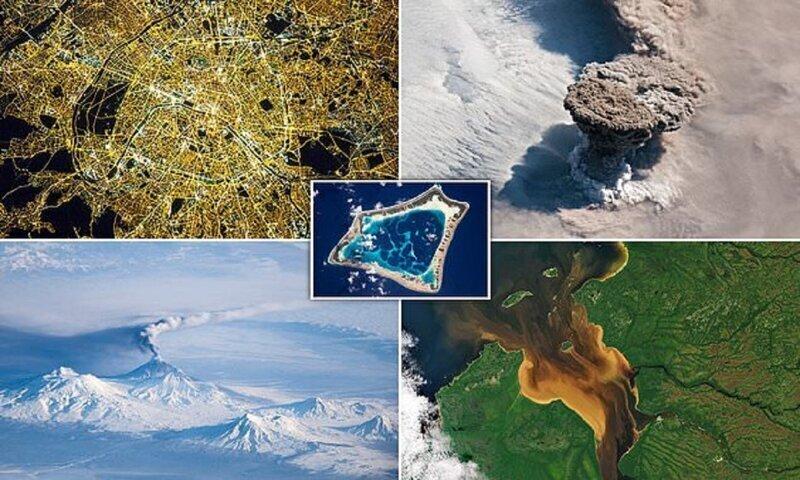 Самые потрясающие фотографии Земли из космоса