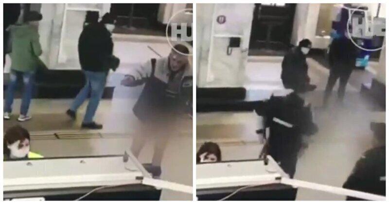 При досмотре на псковском вокзале мужчина снял перед полицейскими трусы и был арестован