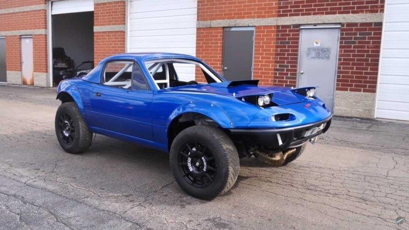 Безумная Mazda MX-5 Miata с полным приводом и двигателем от Subaru