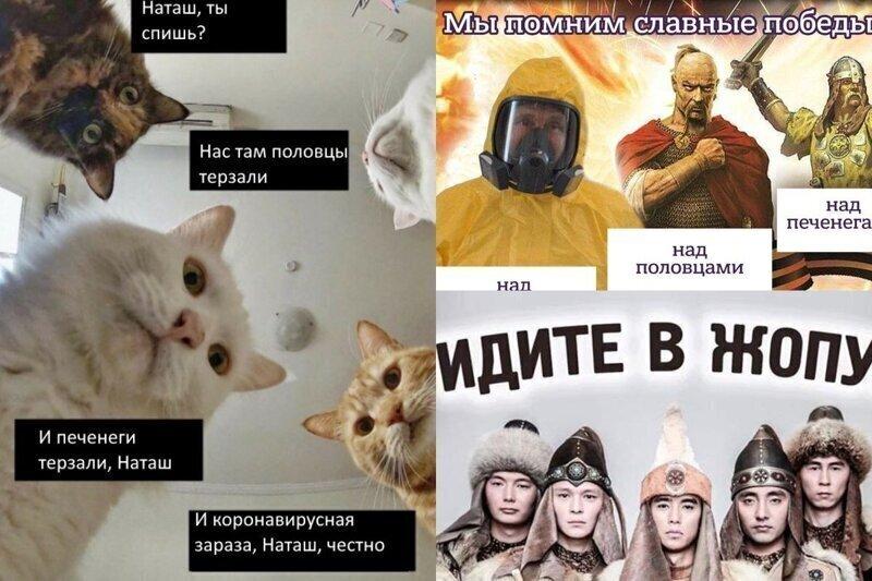 """""""Победим коронавирус как печенегов!"""": в соцсетях пошутили над речью ВВП"""