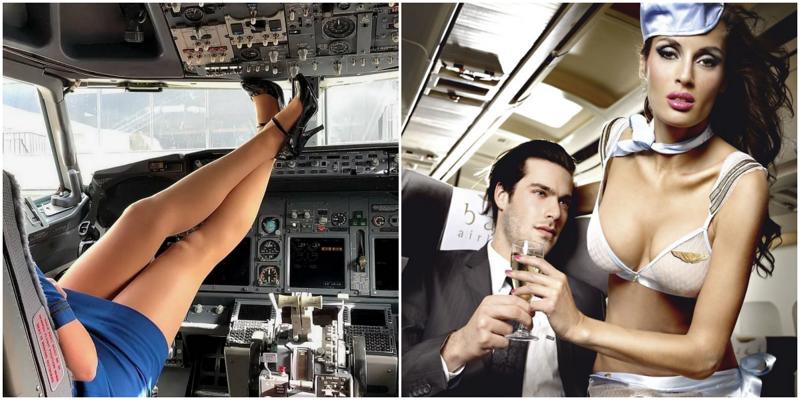 Влажные фантазии: пассажиры рассказали о сексе со стюардессами