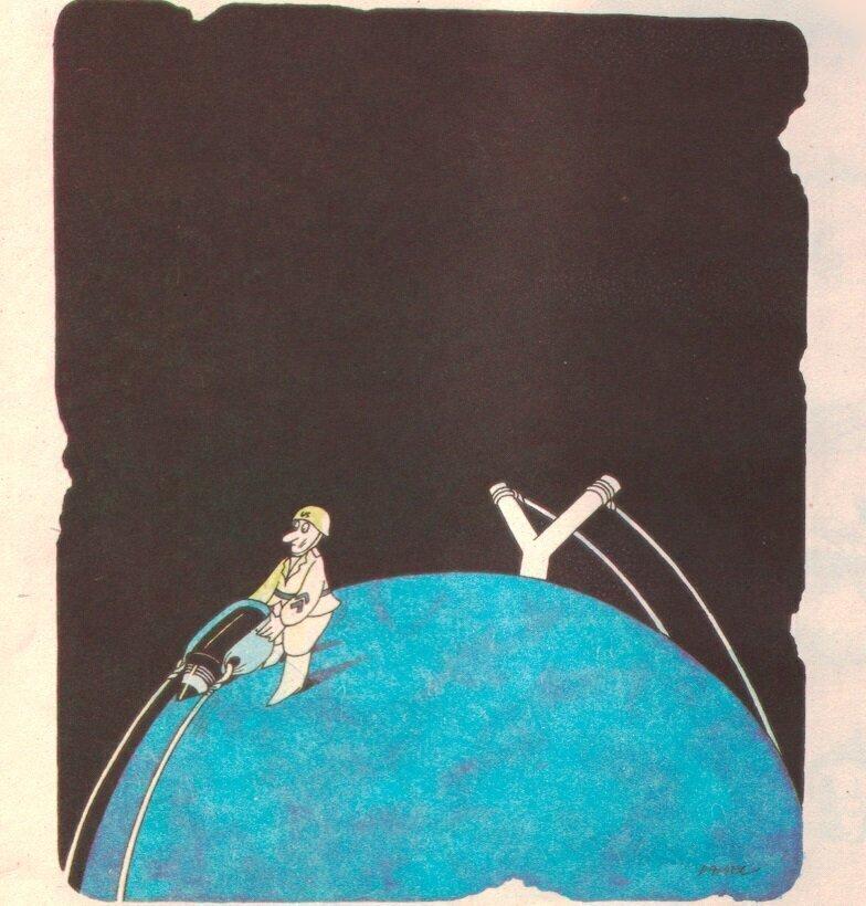 Карикатуры времен СССР о капитализме