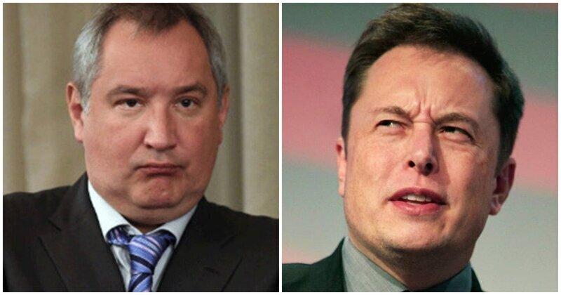 Рогозин обвинил Илона Маска в недобросовестной конкуренции