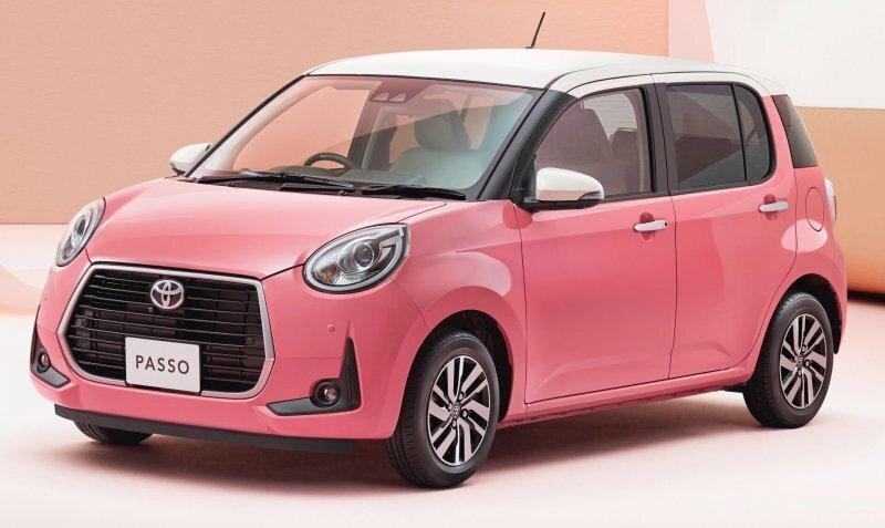 Toyota выпустила автомобильчик Passo Moda Charm специально для дам