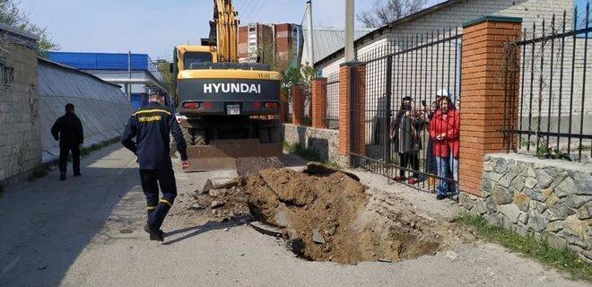 В Днепре перекопали дорогу к церкви МП