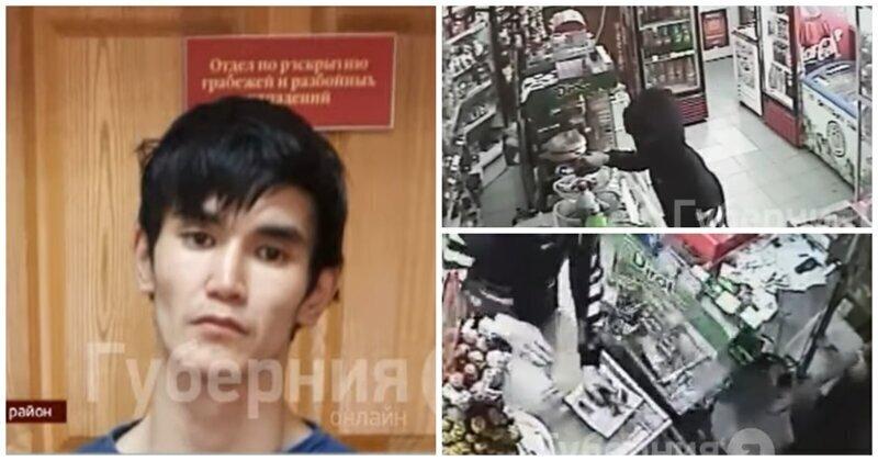 Продавщица из Хабаровска прогнала вооруженного ножом грабителя лопатой