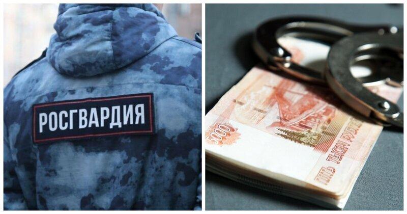 Полковника Росгвардии задержали за вымогательство 18 миллионов рублей
