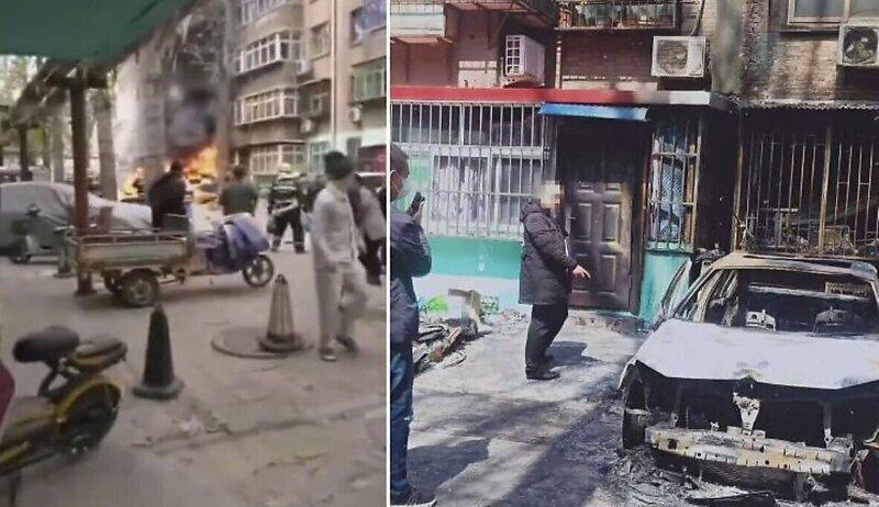 Пешеход, борясь с тополиным пухом, спалил две машины и несколько квартир в Китае