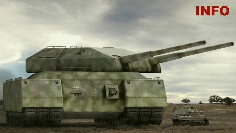 «Крыса»: какой супертанк хотели построить в Третьем рейхе