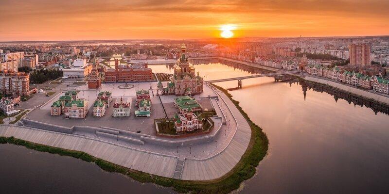 Города России.  Йошкар-Ола