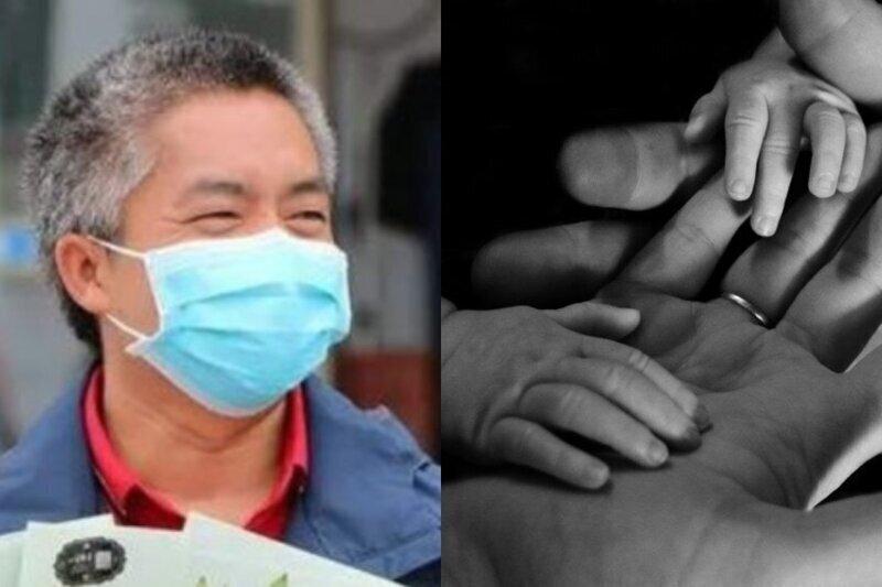 В Китае дочь не узнала отца-медика, вернувшегося из Уханя седым