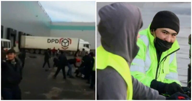Уволенные со склада мигранты напали на российских коллег в Подмосковье