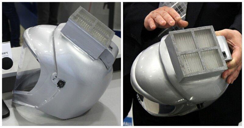 Ученые из Волгограда создали защитный шлем от коронавируса