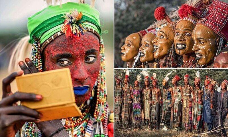 Конкурс мужской красоты племени водаабе