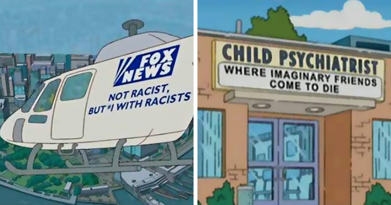 """Самые смешные таблички и надписи из """"Симпсонов"""""""