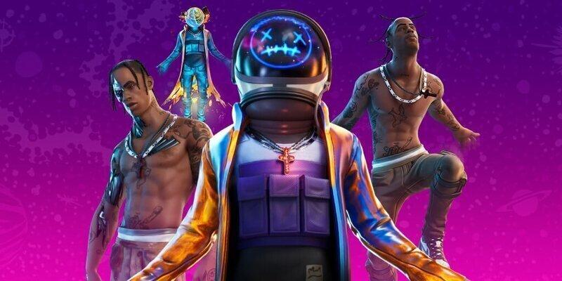 Виртуальный  концерт Трэвиса Скотта в игре Fortnite собрал более 12 миллионов зрителей
